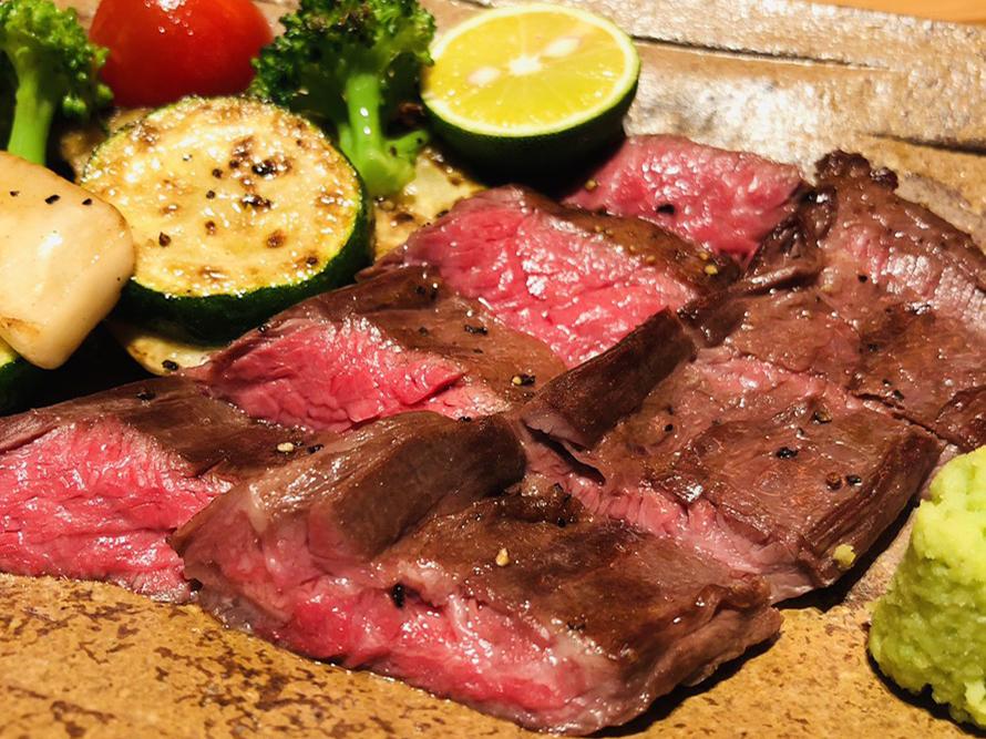 ハラミステーキ 牛肉 定番メニュー